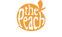 The Peach Ice Cream Logo