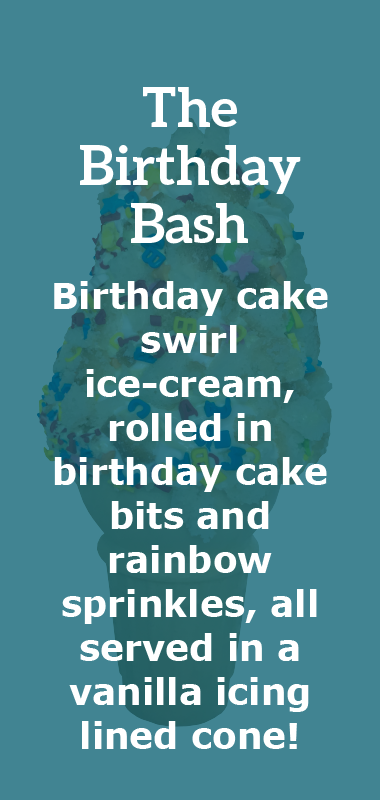 The Birthday Bash Crazy Shake Description