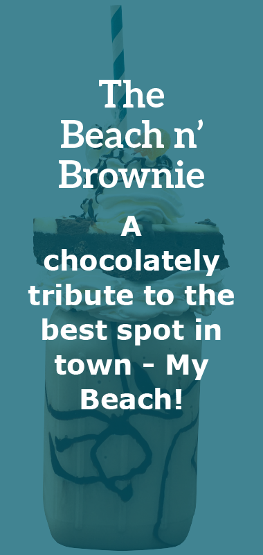 The Beach n' Brownie Crazy Shake Description