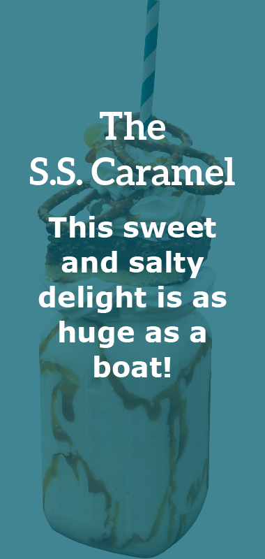 The S.S. Caramel Crazy Shake Description