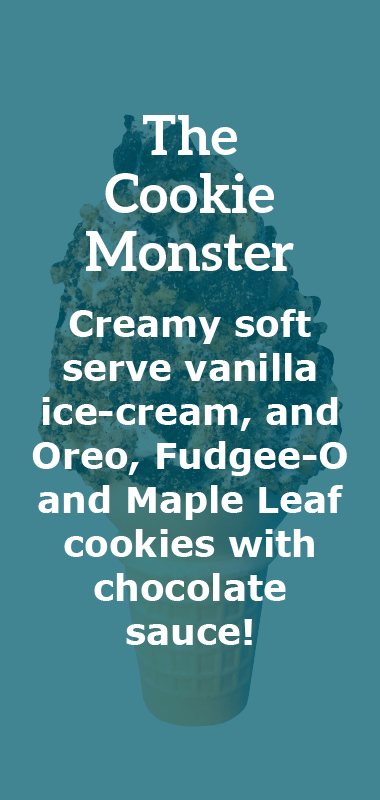 The Cookie Monster Crazy Cone Description